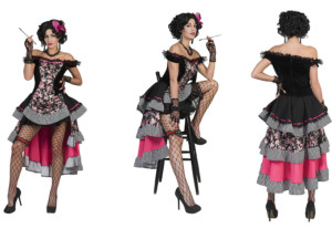 Saloon girl Burlesque-0