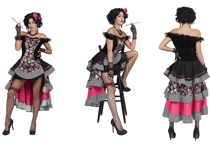 Saloon girl Burlesque-0