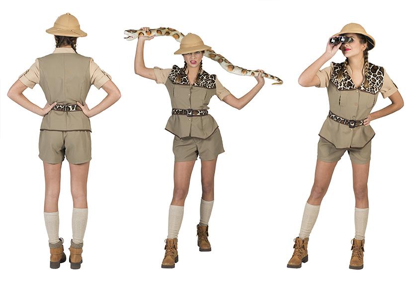 Safari lady-0