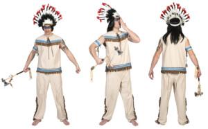 Thundering Teepee man Indiaan-0