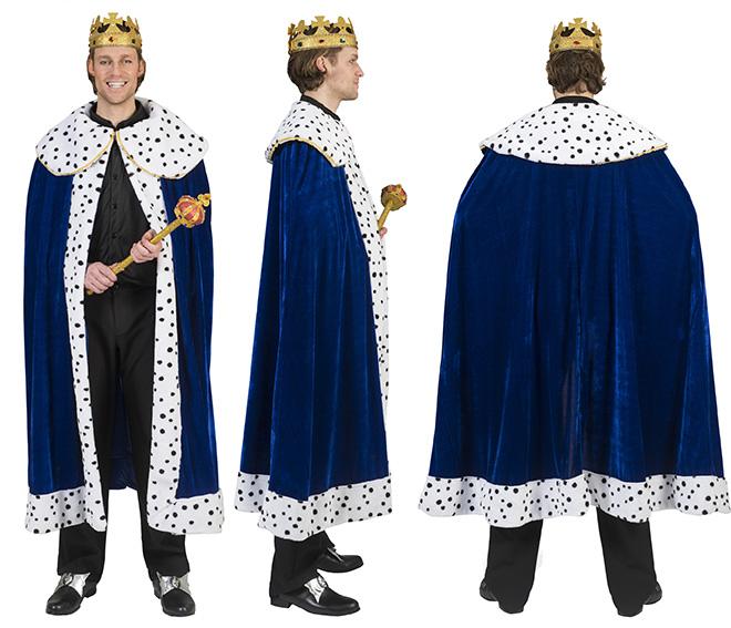 Koninklijke cape Koningscape blauw-0