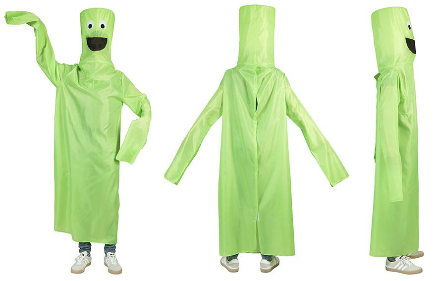 Blower pak kostuum groen-0