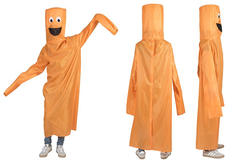 Blower pak kostuum oranje-0