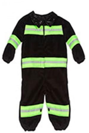 Onesie baby brandweerman-0