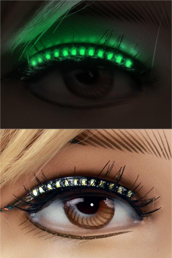 PXP Led lashes Groen-0