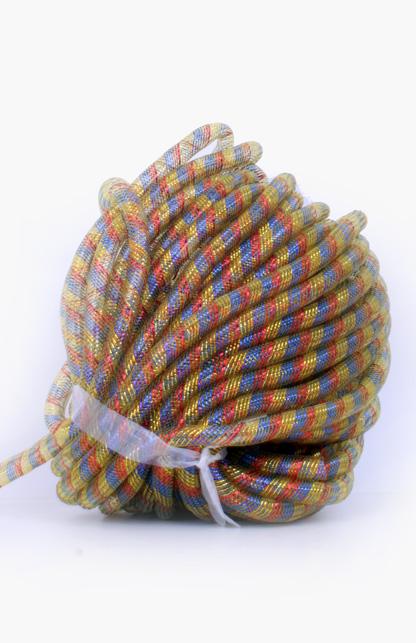Decoslang tube op rol rood/geel/blauw Ø16 mm-0