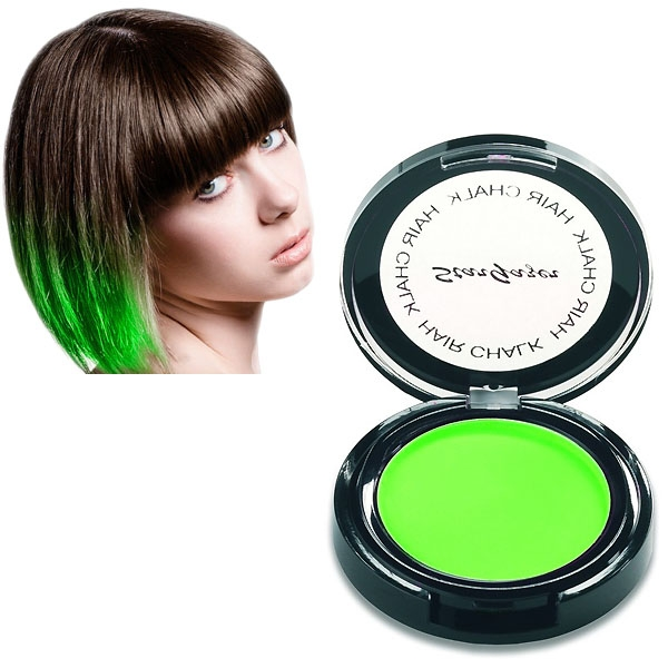Stargazer Neon Green 3,5 gram hair chalk-0