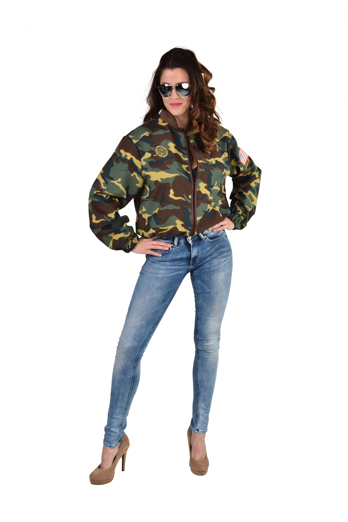 Camouflage jasje-0
