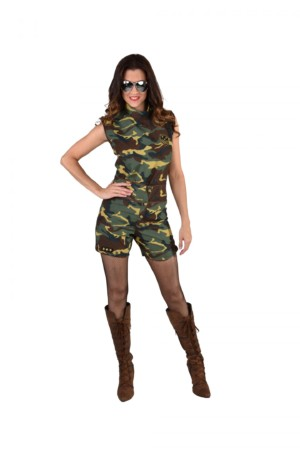 Camouflage hotpants-0
