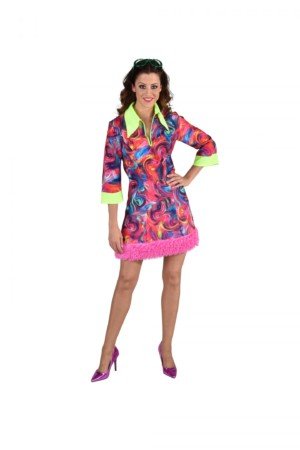 70's jurk funky pink-0