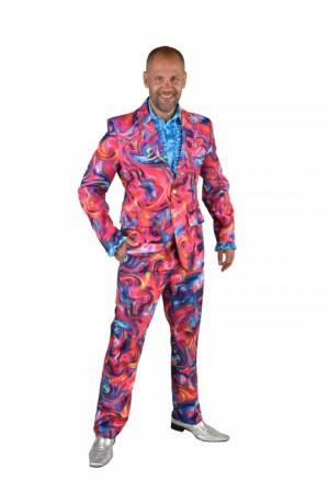 Kostuum funky pink-0