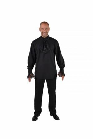 Hemd basic zwart-0