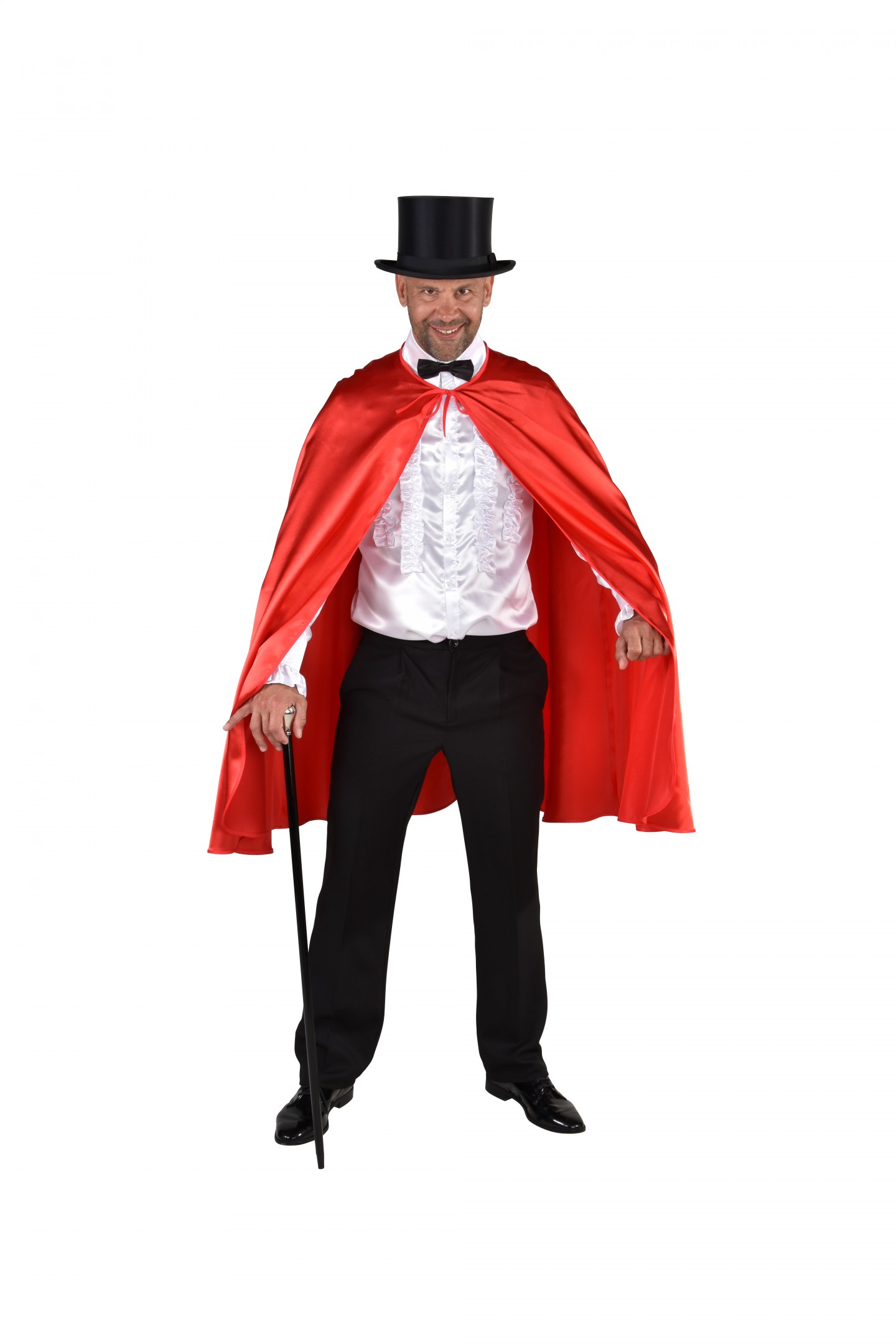 Halloween cape rood-0