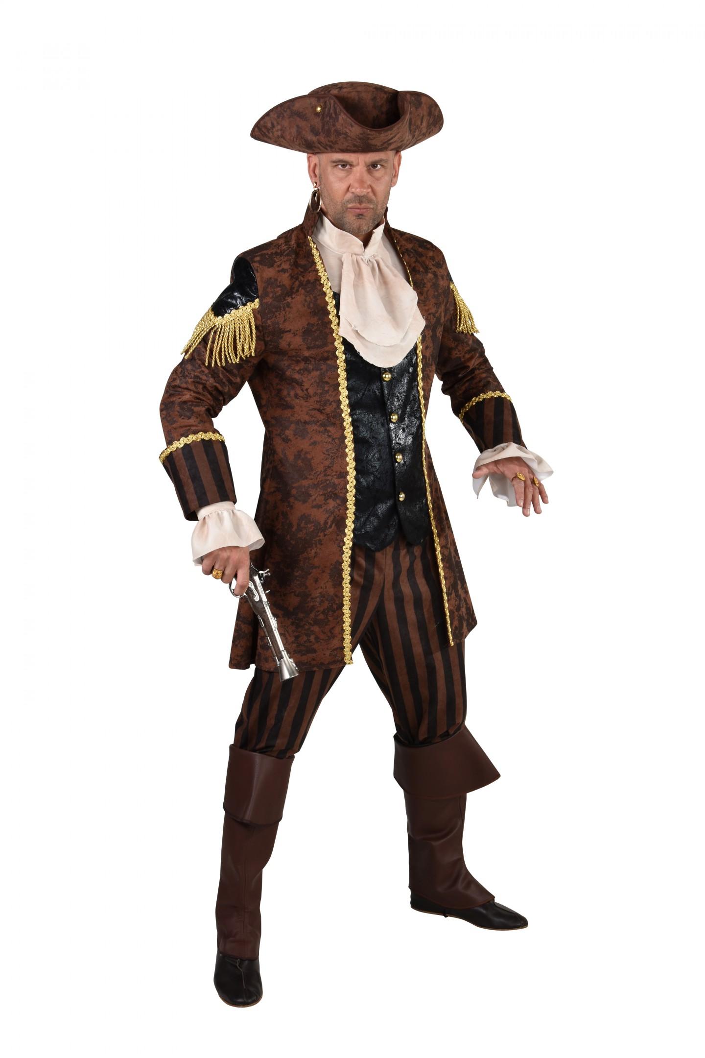 Piraat zwart/bruin-0