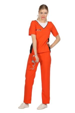 Jailbird orange gevange-0