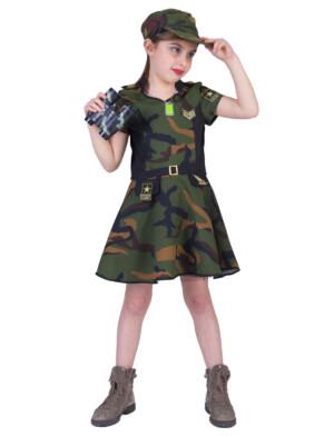 Leger meisje Anna Camouflage-0