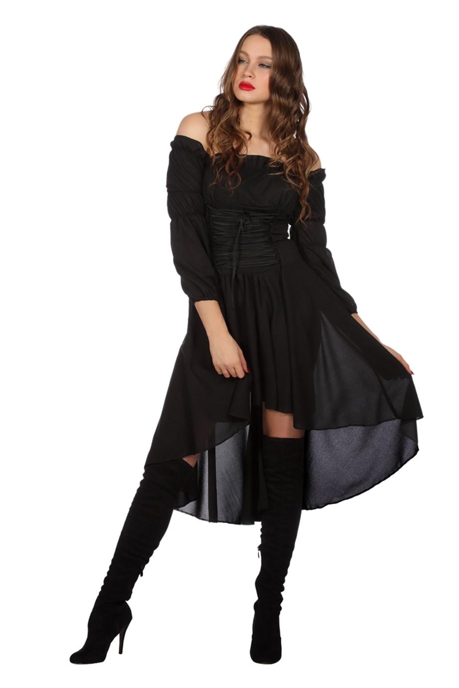 Basic jurk Zwart-0