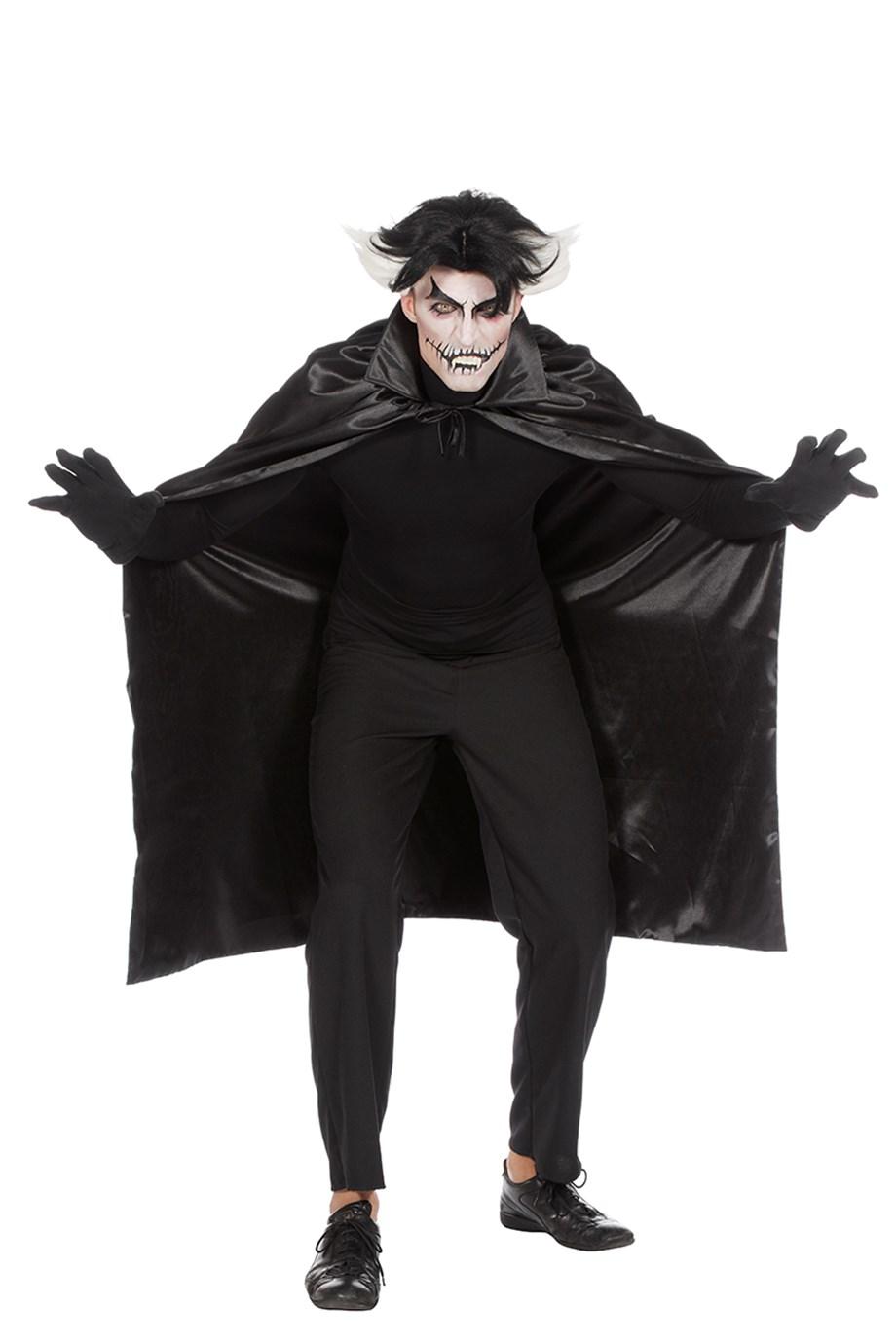 Draculacape dubbel met zwarte kraag-0