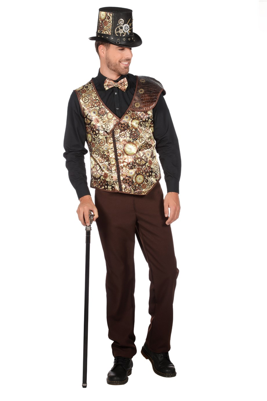 Vest steampunk lacey-0
