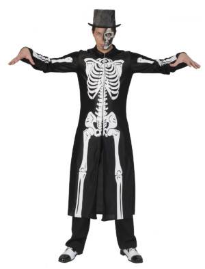 Skeletten jas-0