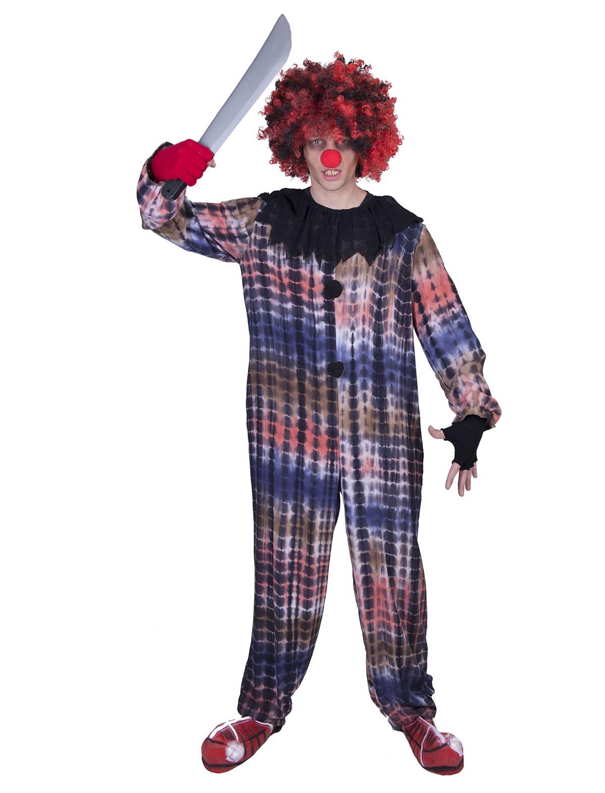 Griezelige clown Leo-0