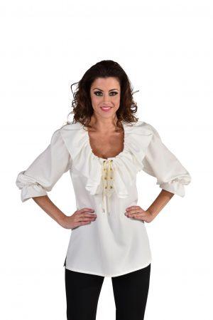 Blouse luxe creme