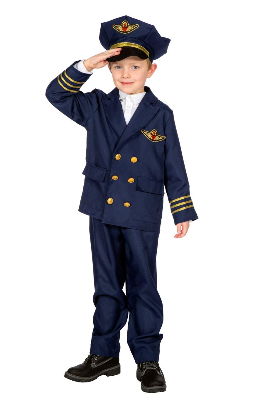 Piloot met pet
