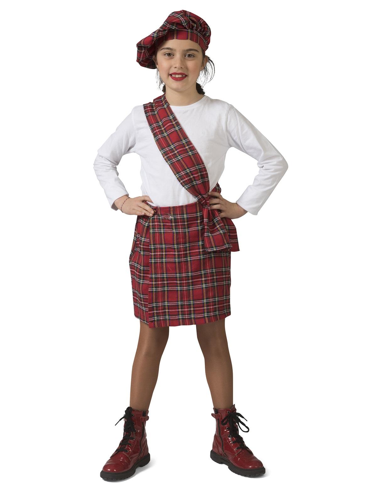Schots schoolmeisje Emma