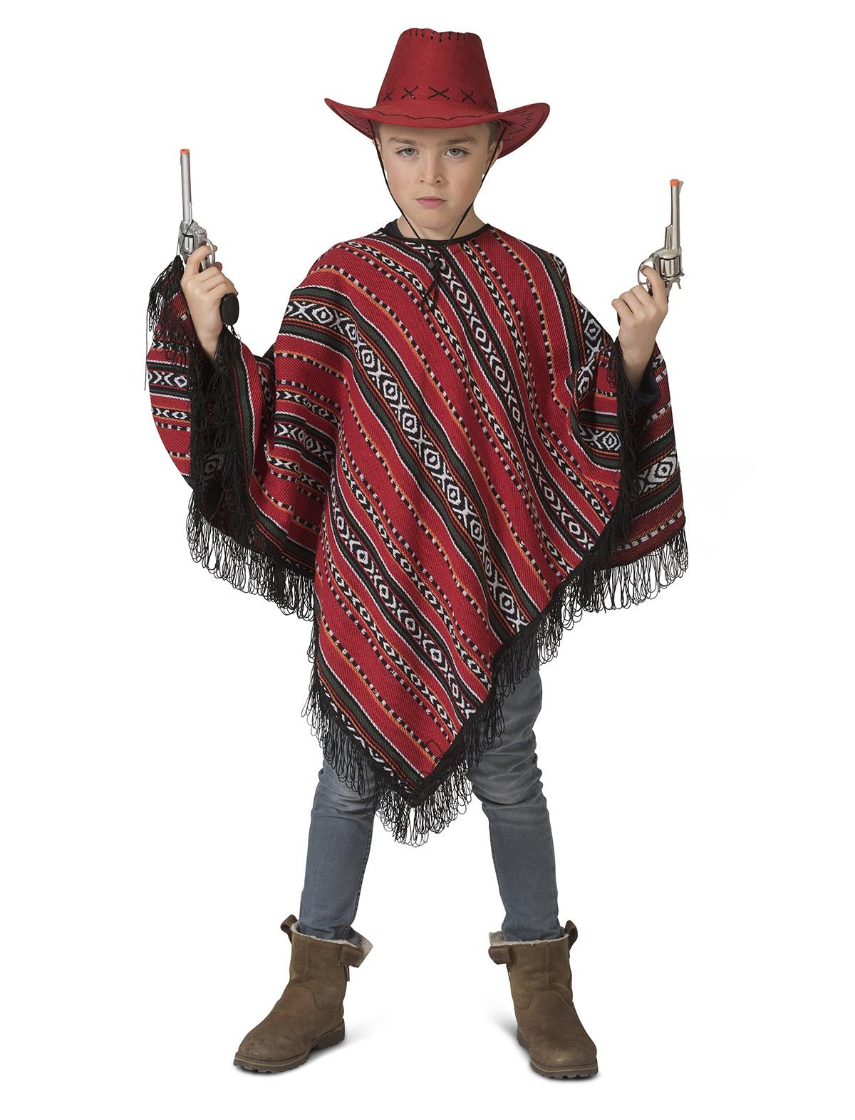 Mexicaanse Poncho jongen 1