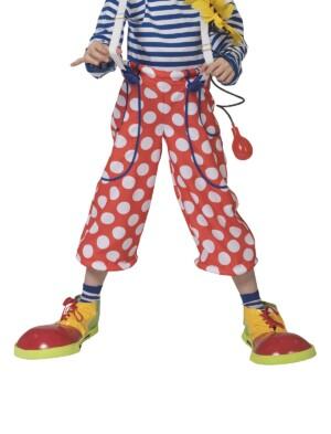 Clownsbroek met stippen
