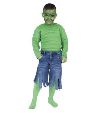 Groene gespierde man body