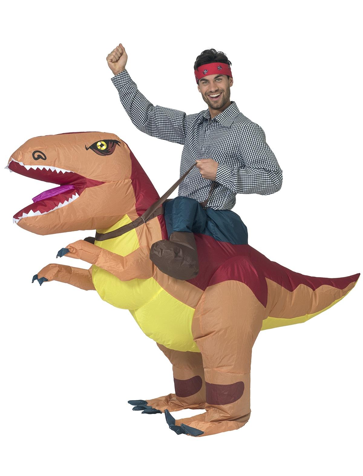 Opblaasbare dinosaurus 1
