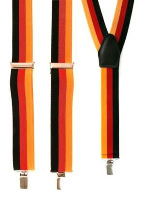 Bretel Duitsland zwart/rood/geel