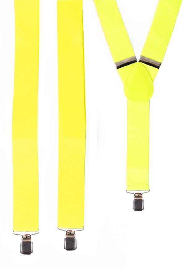 Bretel fluor geel 1