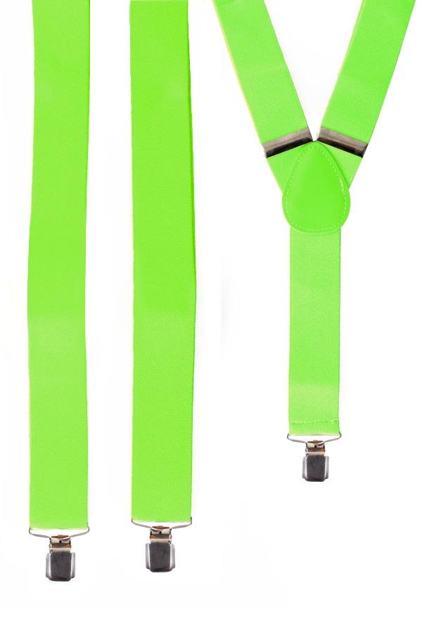 Bretel fluor groen 1