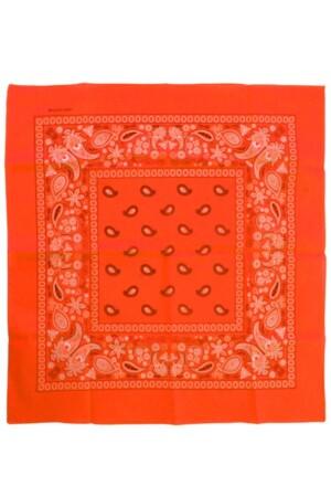 Bandana Fluor oranje 53 x 53 cm.