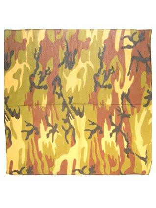 Bandana camouflage groen 59 x 59 cm 1