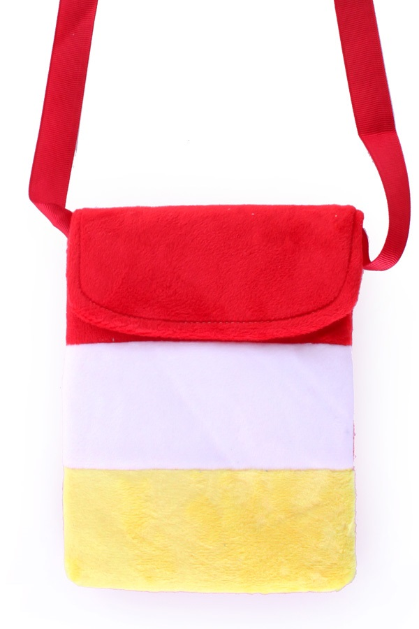 Tasje rood/wit/geel  1