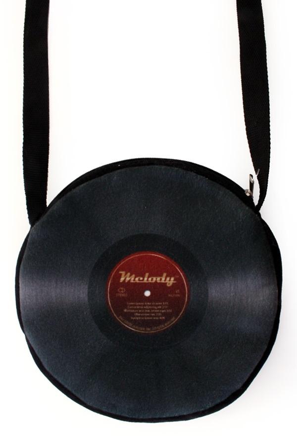 Handtas vinyl plaat 1