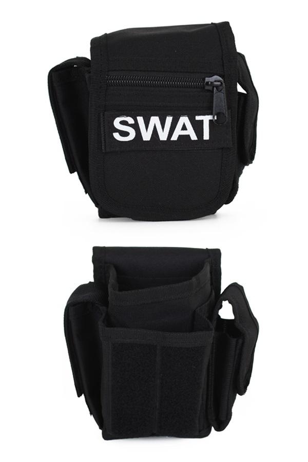 Riemtas SWAT zwart 1