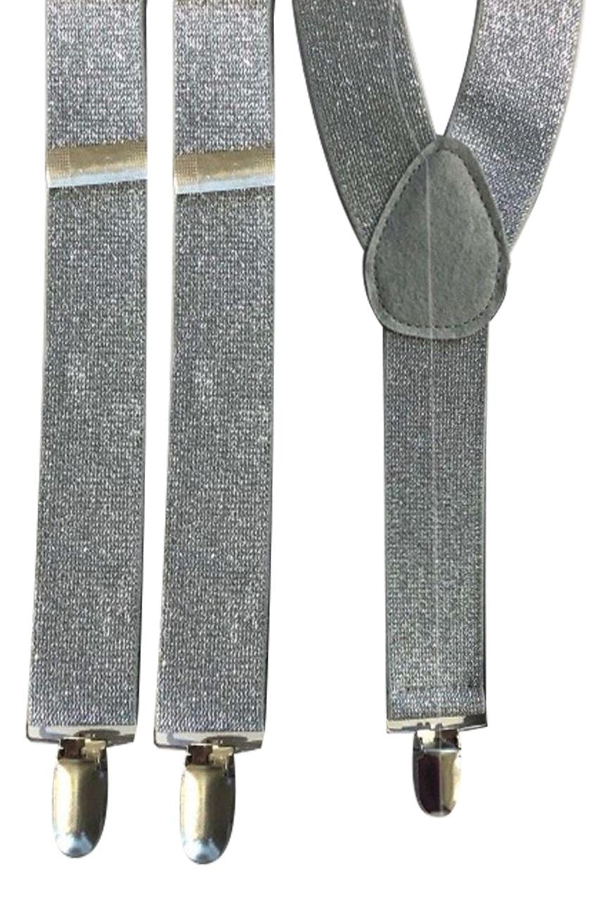 Bretel lurex zilver 1