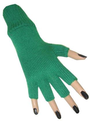 Vingerloze handschoen groen 1