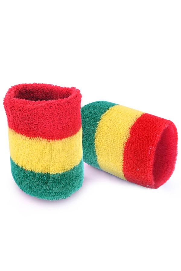 Polsbandjes rood/geel/groen 1