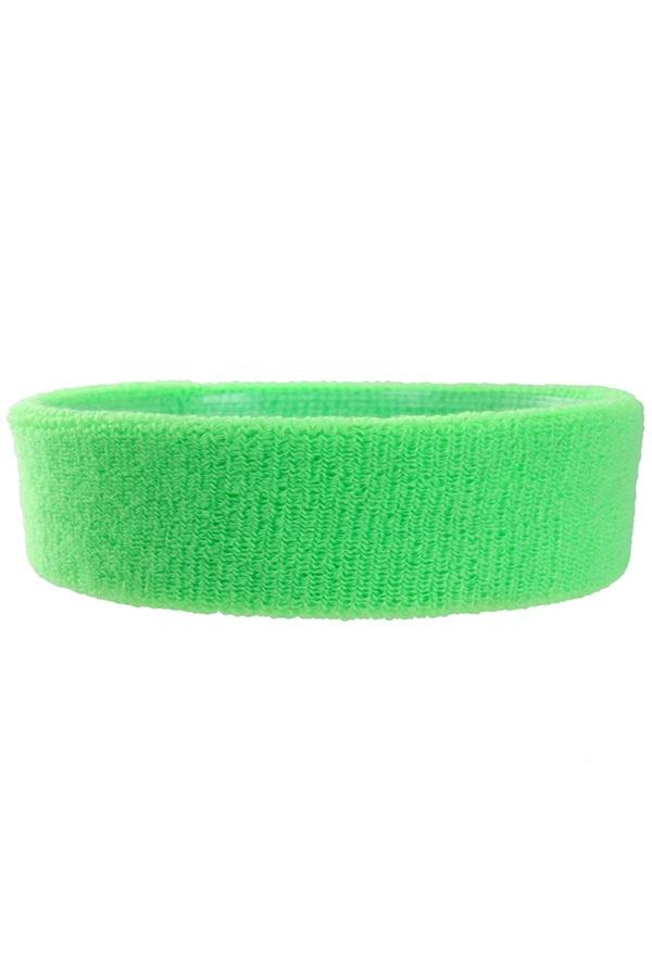 Hoofdbandjes neon groen 1