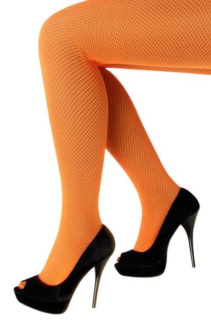 Netpanty fluo oranje one size 1