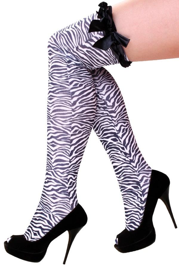 Stay up kousen zebra 1