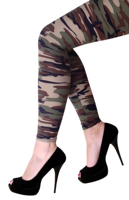 Legging camouflage volw