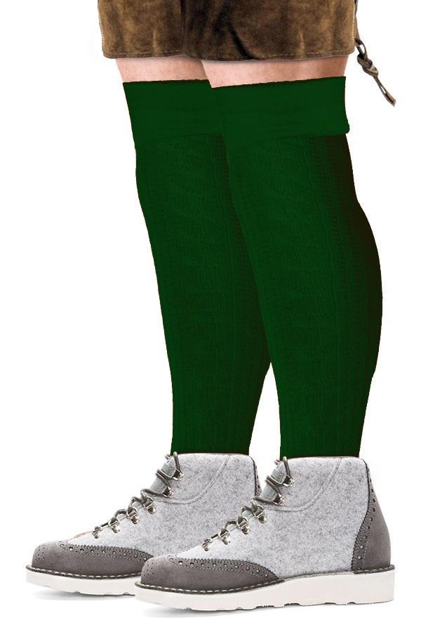 Tiroler sokken lang deluxe groen  1