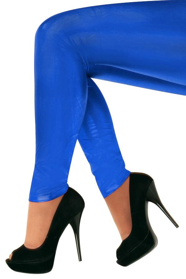 Legging 60 denier blauw 1