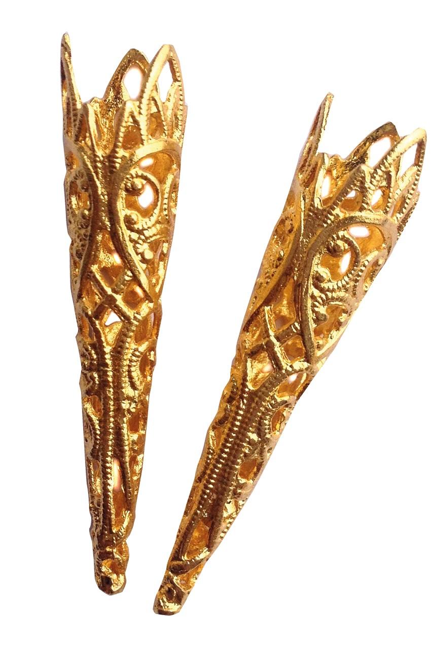 Luxe verenpuntjes goud 1